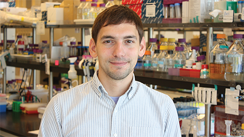 Postdoc wins Tabor award for lipid membrane research