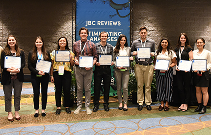 2019 Honor Society members at the ASBMB Annual Meeting