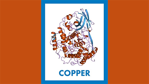 For April, it's copper — atomic No. 29