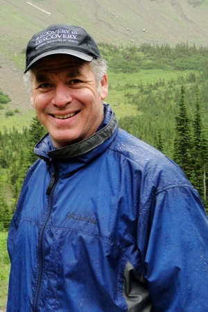 Photo of Jeremy Berg at Glacier National Park in the summer of 2010