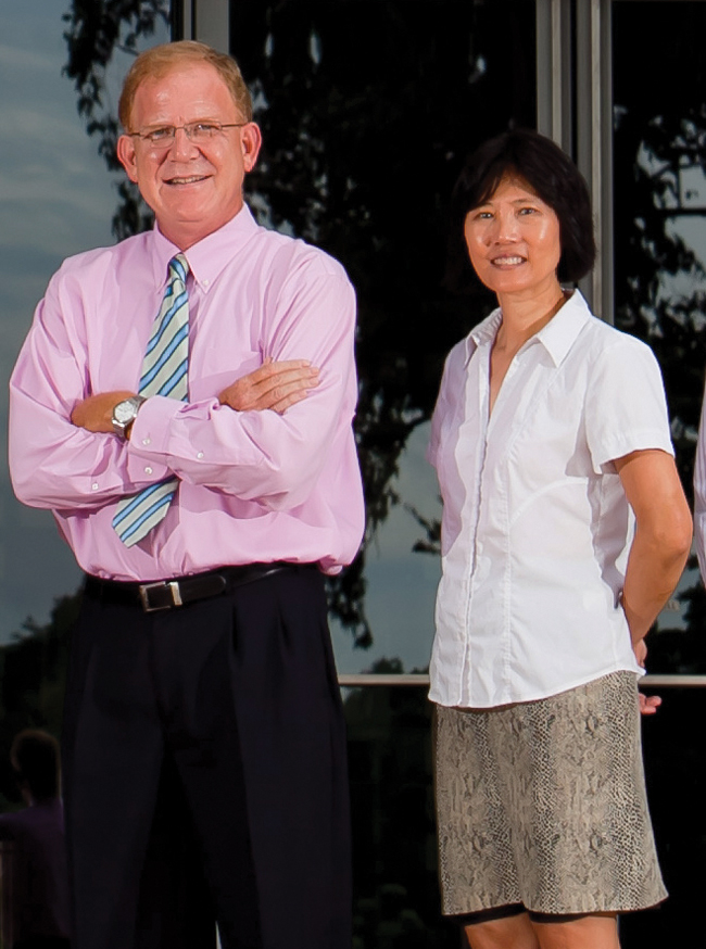Patrick Casey and Mei Wang