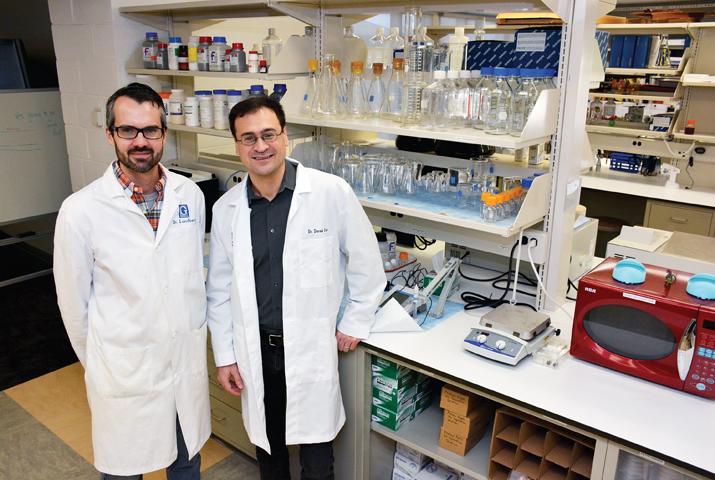Daniel Lundberg and Derek Braun
