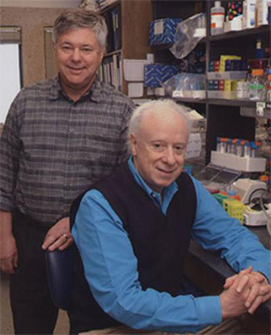 Michael Brown and Joseph Goldstein