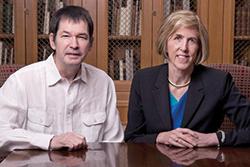 Jonathan Cohen and Helen Hobbs