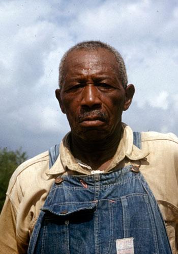 Photo of Tuskegee study subject
