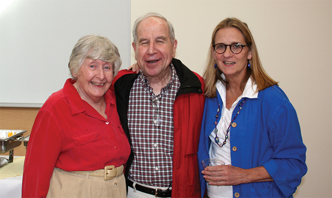 Mary Jane Osborn, Lawrence Rothfield and Sandra Weller<strong></strong>