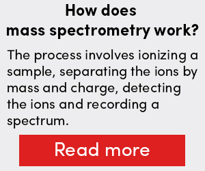 How does mass spectrometry work?