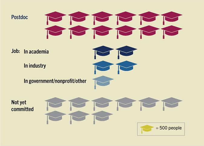 Graduation cap chart