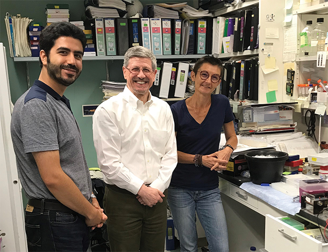 The RNA editing team in the Davidson lab at Washington University in St. Louis