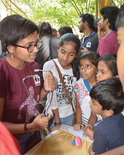 Students at the Indian Institute of Science